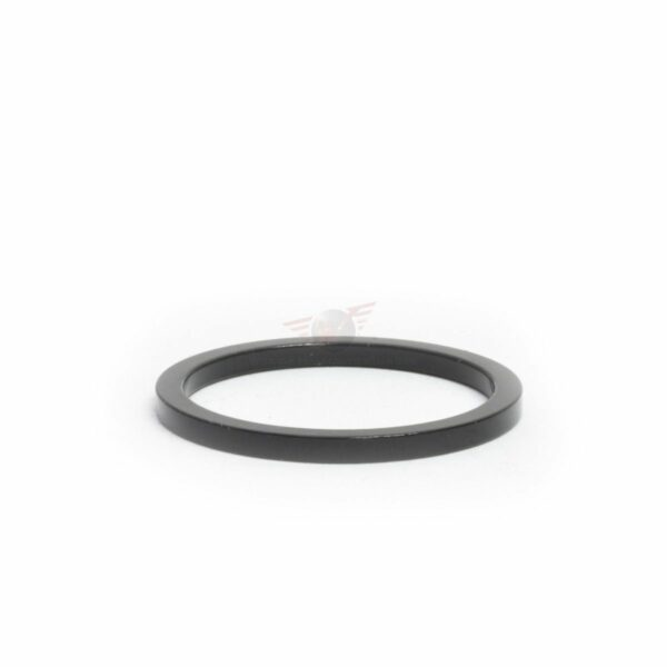 """1-1/8"""" x 2.5mm Black Headset Spacer - Bicycle Parts Direct"""