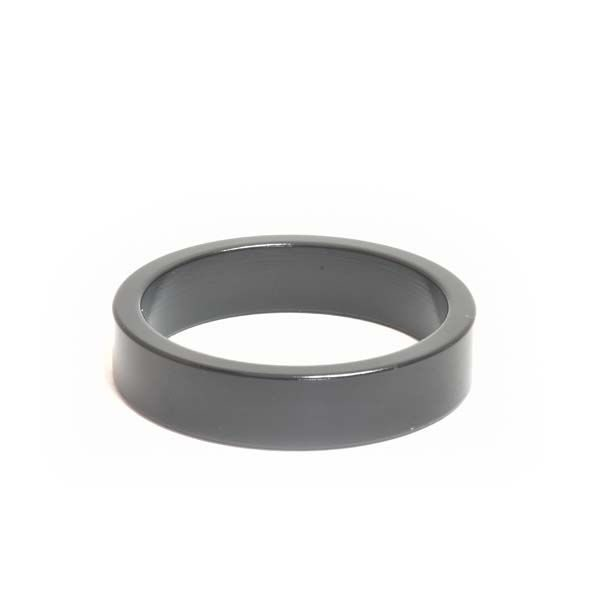 """1-1/2"""" x 10mm Black Aluminum Headset Spacer - Bicycle Parts Direct"""