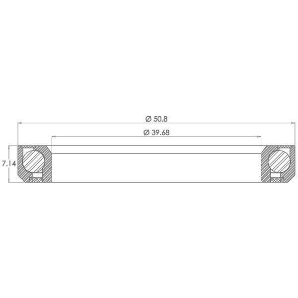 Cannondale Lefty / Headshok Headset Bearing Diagram - Bicycle Parts Direct