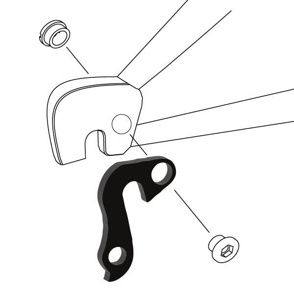 Derailleur Hanger 103 - Bicycle Parts Direct