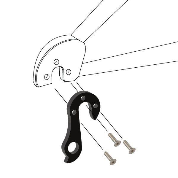 Derailleur Hanger 117 - Bicycle Parts Direct