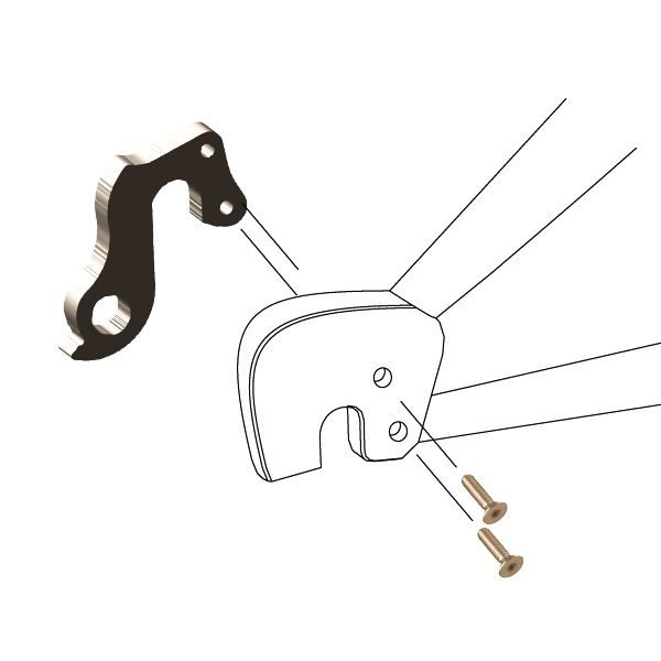 Derailleur Hanger 178 - Bicycle Parts Direct