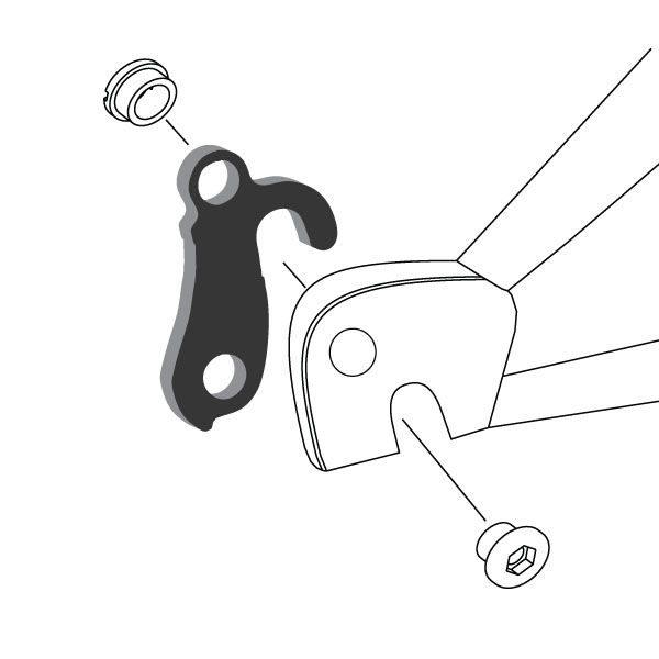 Derailleur Hanger 40 - Bicycle Parts Direct