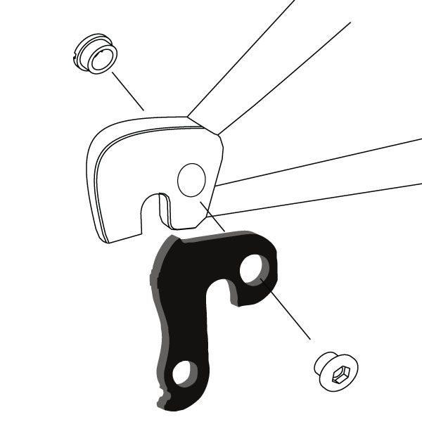 Derailleur Hanger 45 - Bicycle Parts Direct