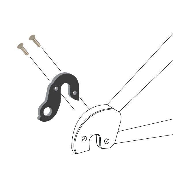 Derailleur Hanger 63 - Bicycle Parts Direct