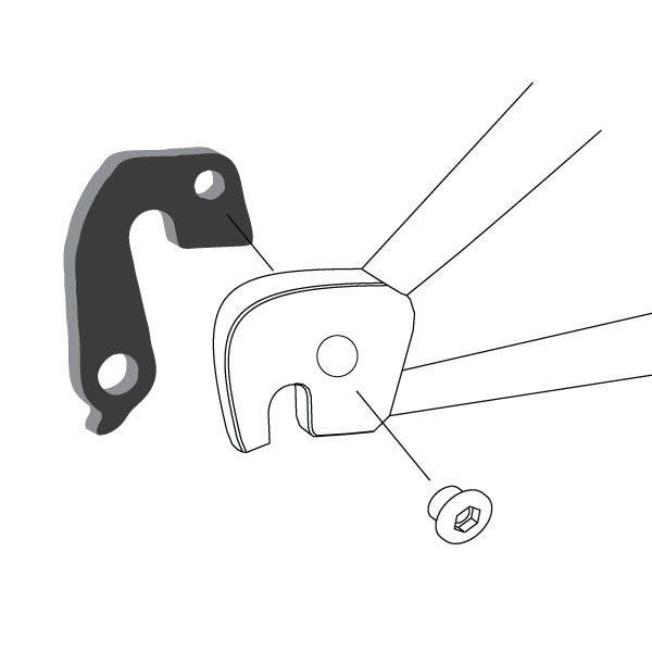 Derailleur Hanger 65 - Bicycle Parts Direct