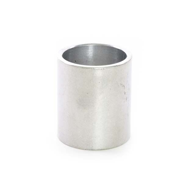 "1-1/8"" x 40mm Silver Aluminum Headset Spacer - Bicycle Parts Direct"