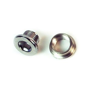 M8 Chainring Bolt Short - Bicycle Parts Direct