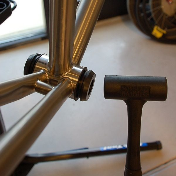 PF30 Adapter for 24mm in Use - Bicycle Parts Direct