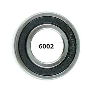 6002 Ceramic Sealed Bearing - Bicycle Parts Direct