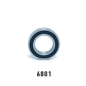 Enduro 6801 ABEC-5, Sealed Bearing - Bicycle Parts Direct