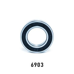 Enduro 6903 ABEC-5, Sealed Bearing - Bicycle Parts Direct