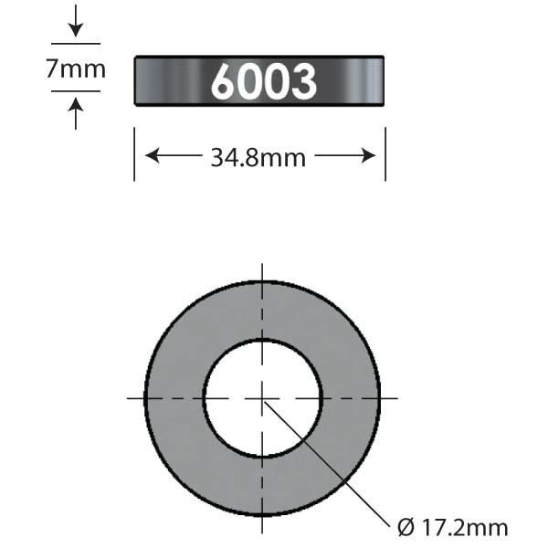 6003 Over Axle Adapter