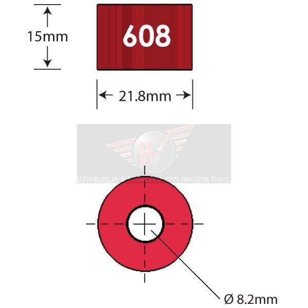 608 Diagram - Bicycle Parts Direct