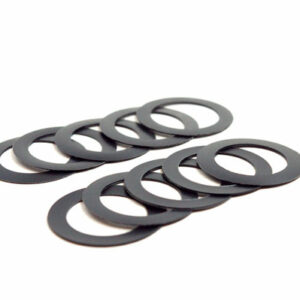 24mm ID x 0.5mm Crank Spindle Spacer, Bag of 10