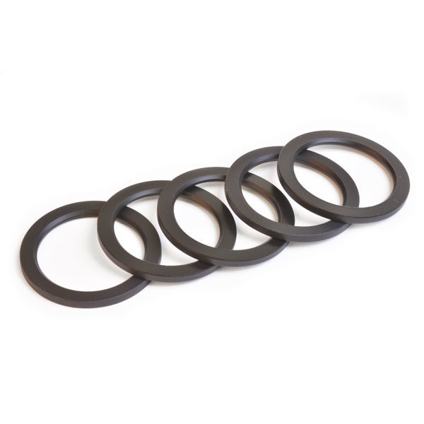 29mm ID x 2.5mm Crank Spindle Spacer, Bag of 5