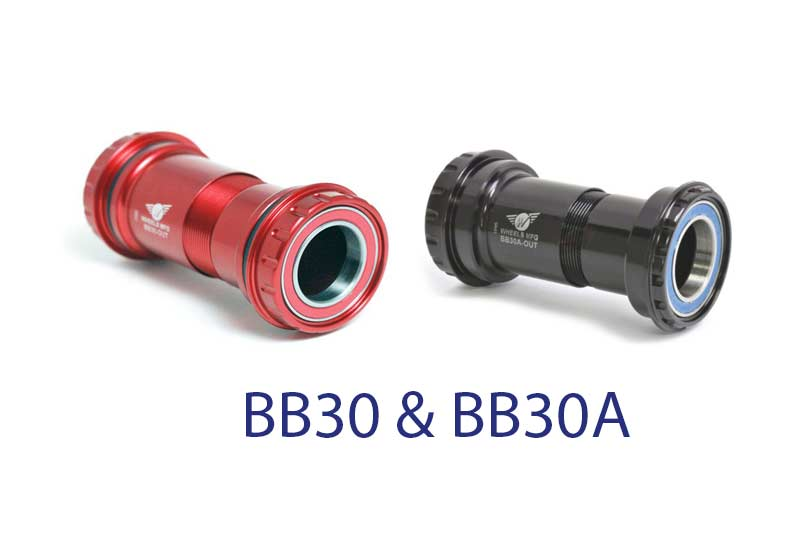 What is the difference between BB30 and BB30A - Bicycle Parts Direct
