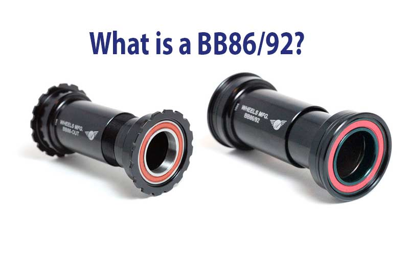 What is a BB86/92 Bottom Bracket - Bicycle Parts Direct