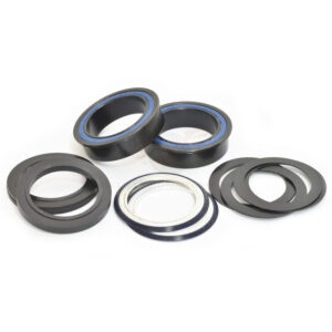 BB86 to 30MM Kit for PressFit 86/92 Bottom Bracket with Flanged, Dual Row Black Oxide - Bicycle Parts Direct