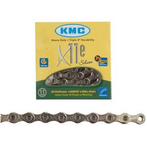 CHAIN KMC X11e 11s SL 126L f/EBIKE - Bicycle Parts Direct