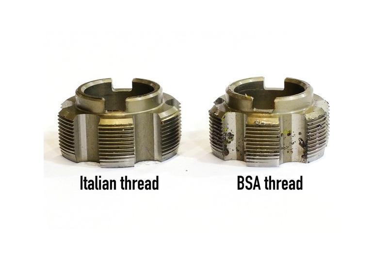 BSA Vs Italian - Bicycle Parts Direct